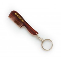 Pocket Moustache Comb with Keyring