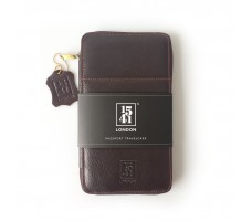 Passport Travelcase (Dark Brown)