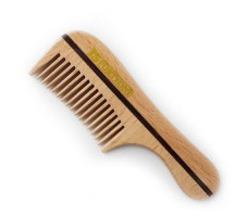 Wooden Pocket Beard & Moustache Comb